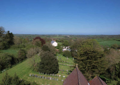 East view from Church Tower